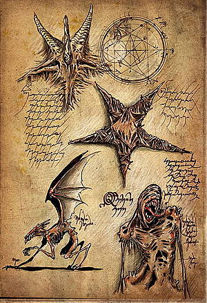 Evil Dead Book Of The Dead Pages